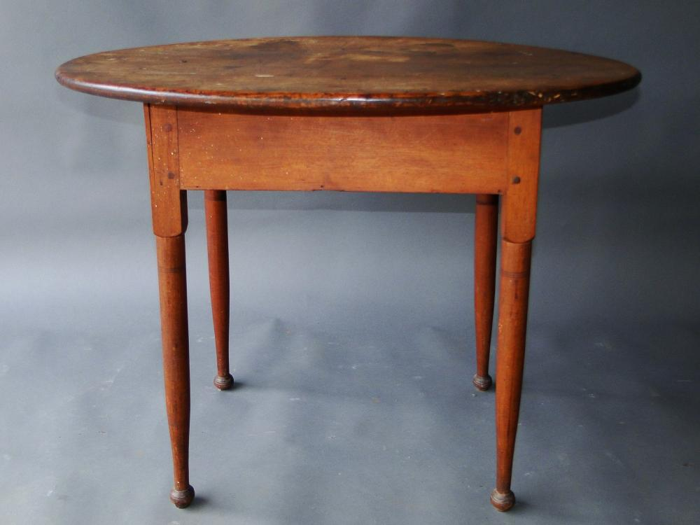EARLY QUEEN ANNE TEA TABLE