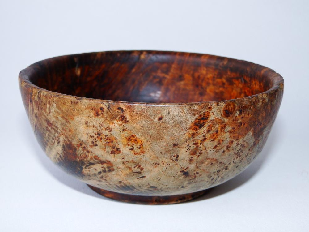 EARLY 19TH C BURL BOWL