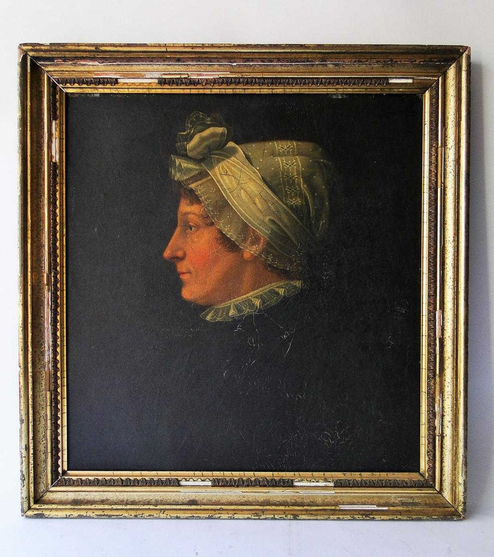 18TH C PORTRAIT OF A LADY