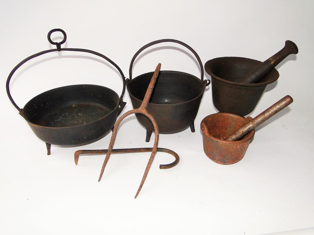 GROUPING OF 18TH C IRON