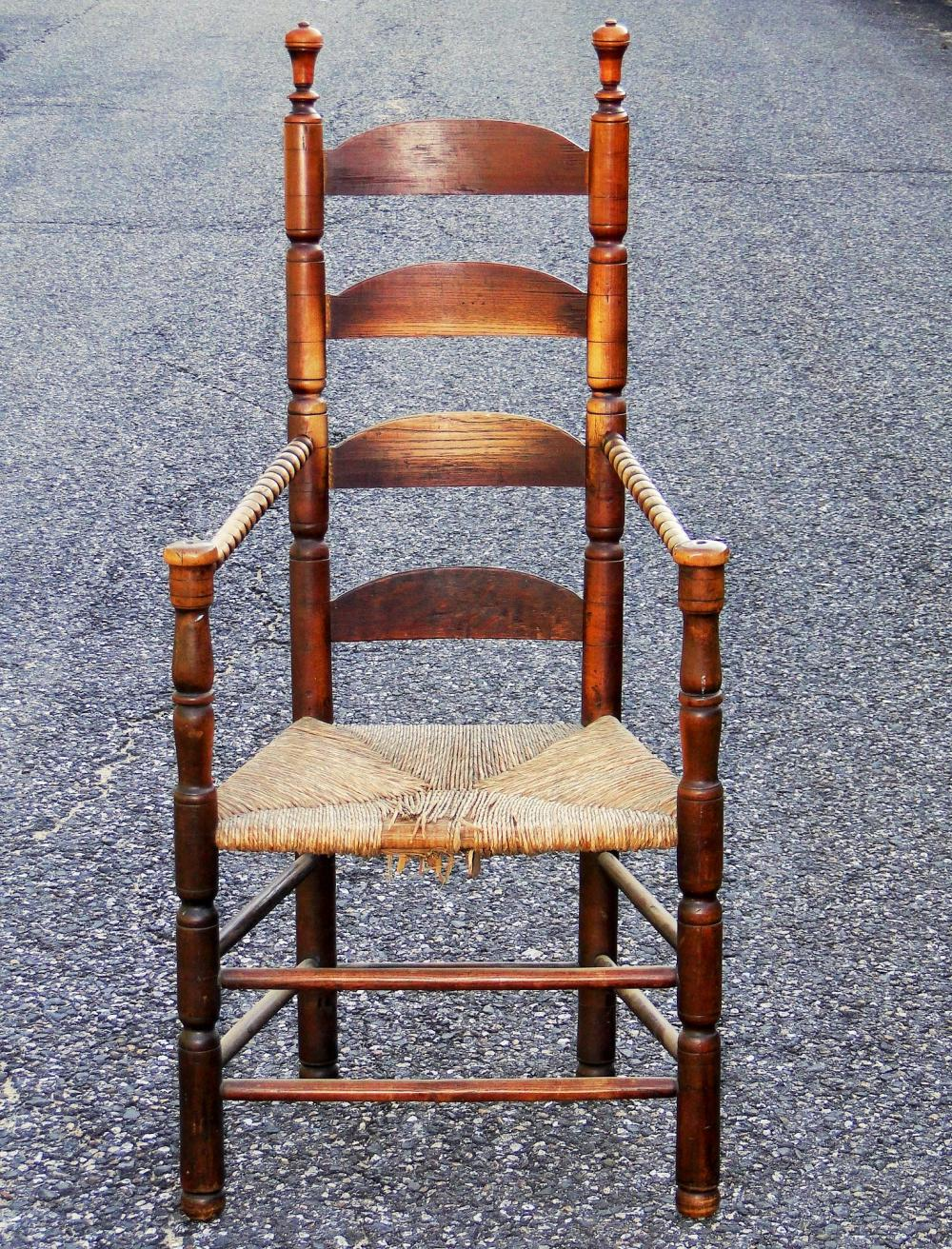 PILGRIM CENTURY LADDERBACK GREAT CHAIR