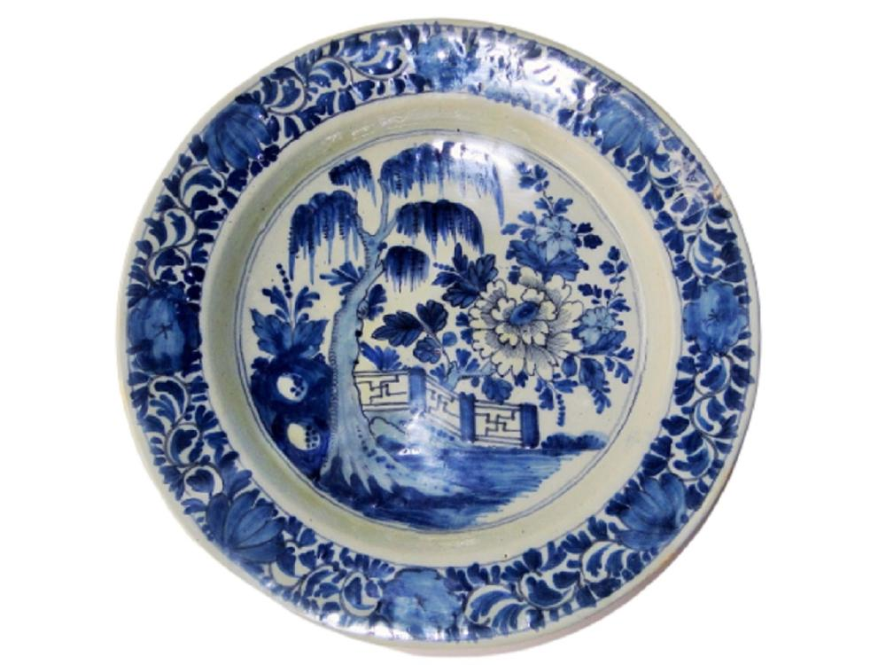EARLY DELFT CHARGER