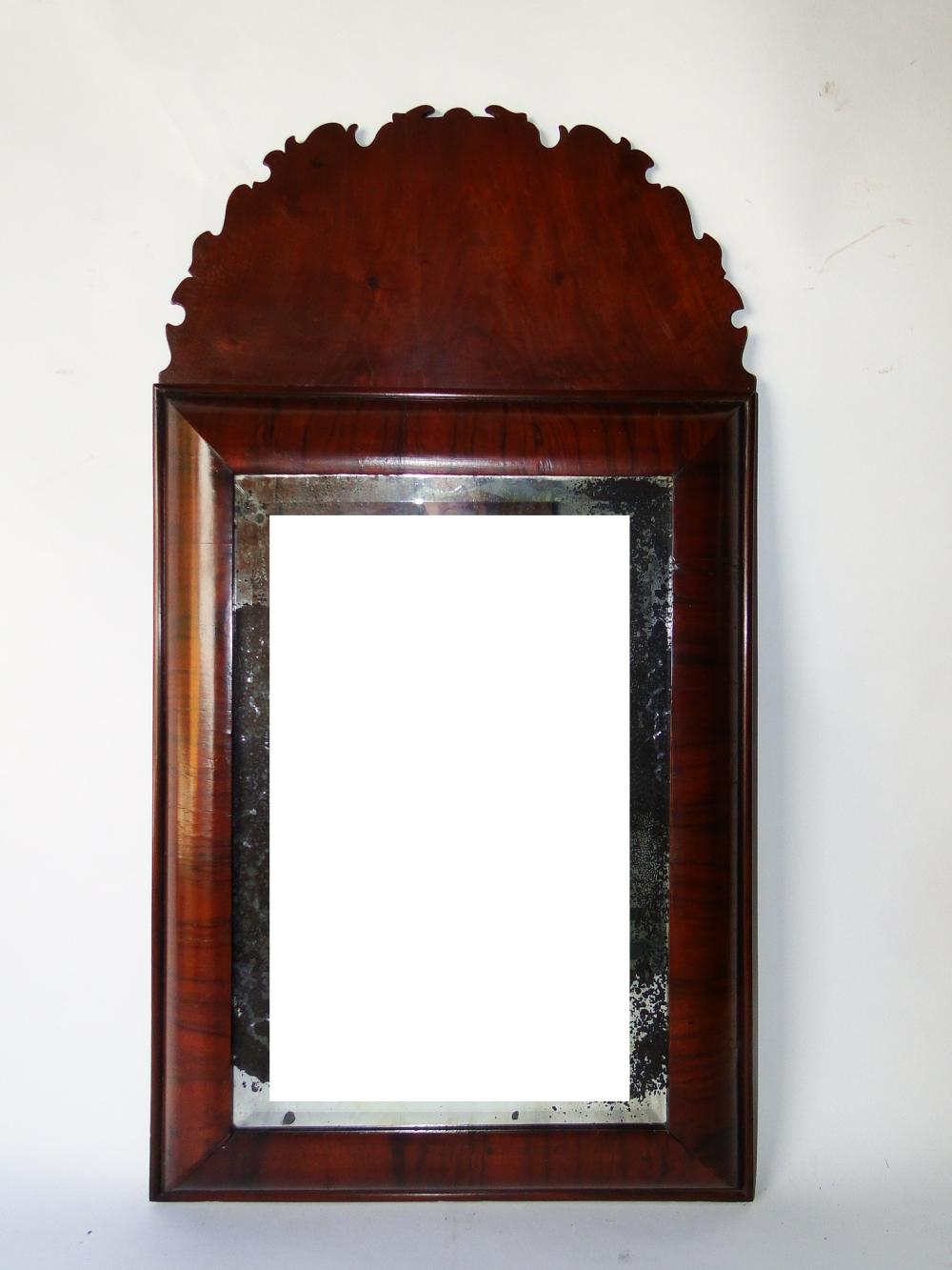 RARE C. 1680 WILLIAM AND MARY MIRROR