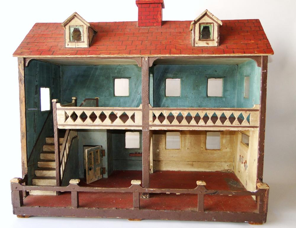 19TH C VICTORIAN DOLL HOUSE