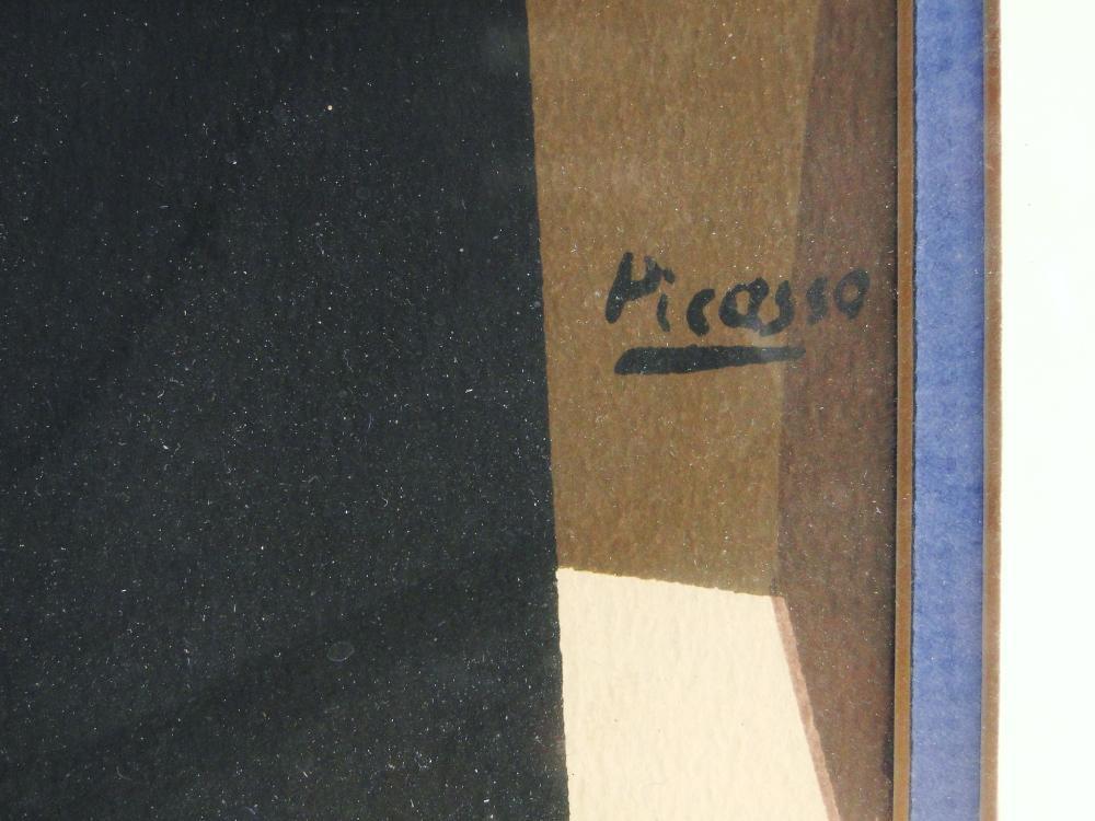 Lot 4: ORIGINAL PABLO PICASSO LITHOGRAPH MUSIC