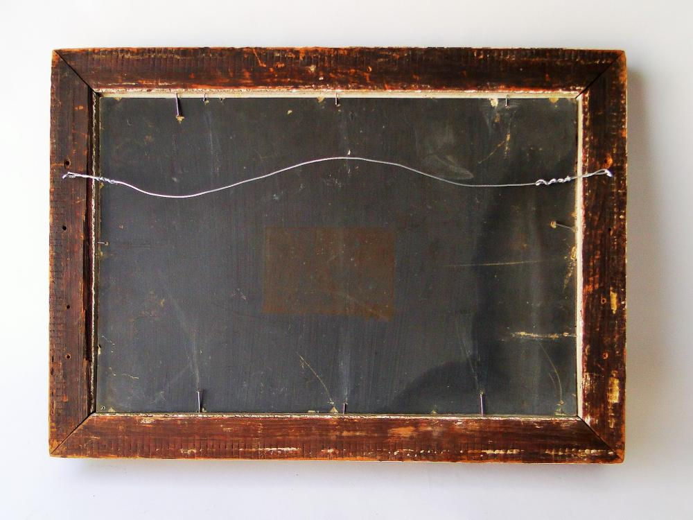 Lot 9: 19TH C STILL LIFE PAINTING OF STRAWBERRIES