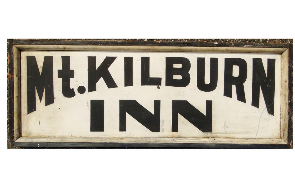 NH MT. KILBURN INN TRADE SIGN