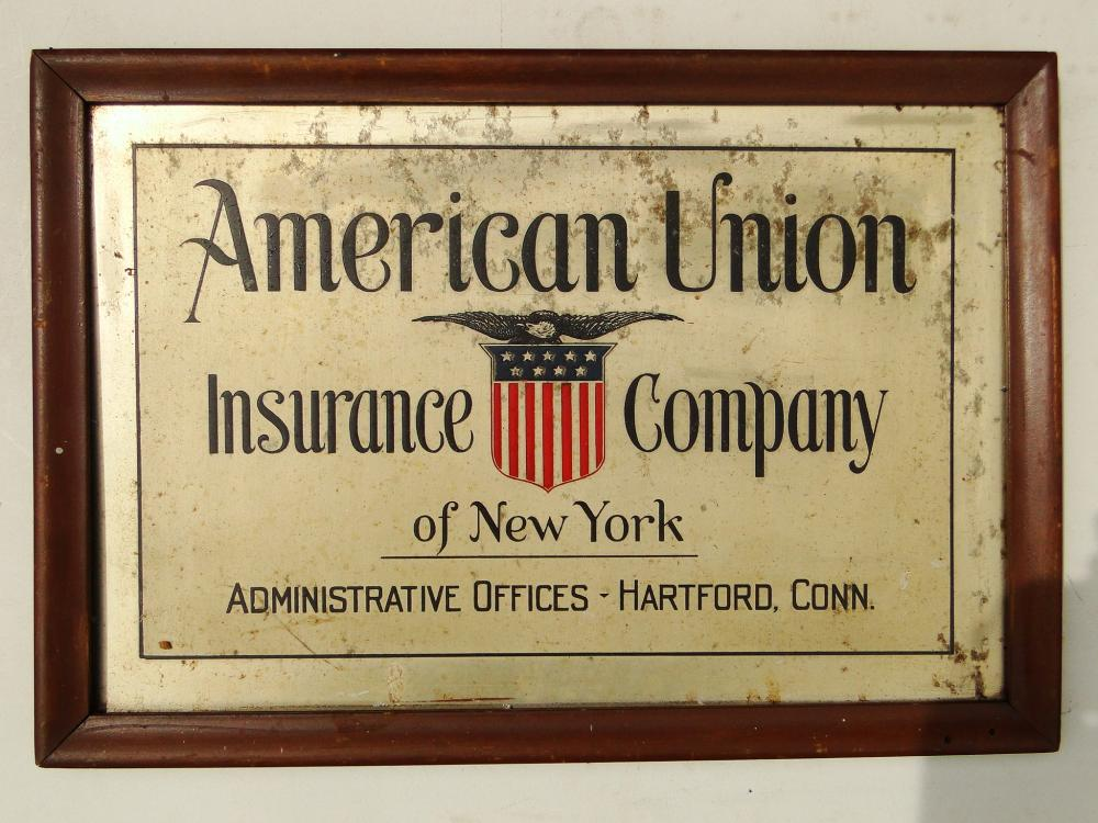TIN AMERICAN UNION INS. TRADE SIGN