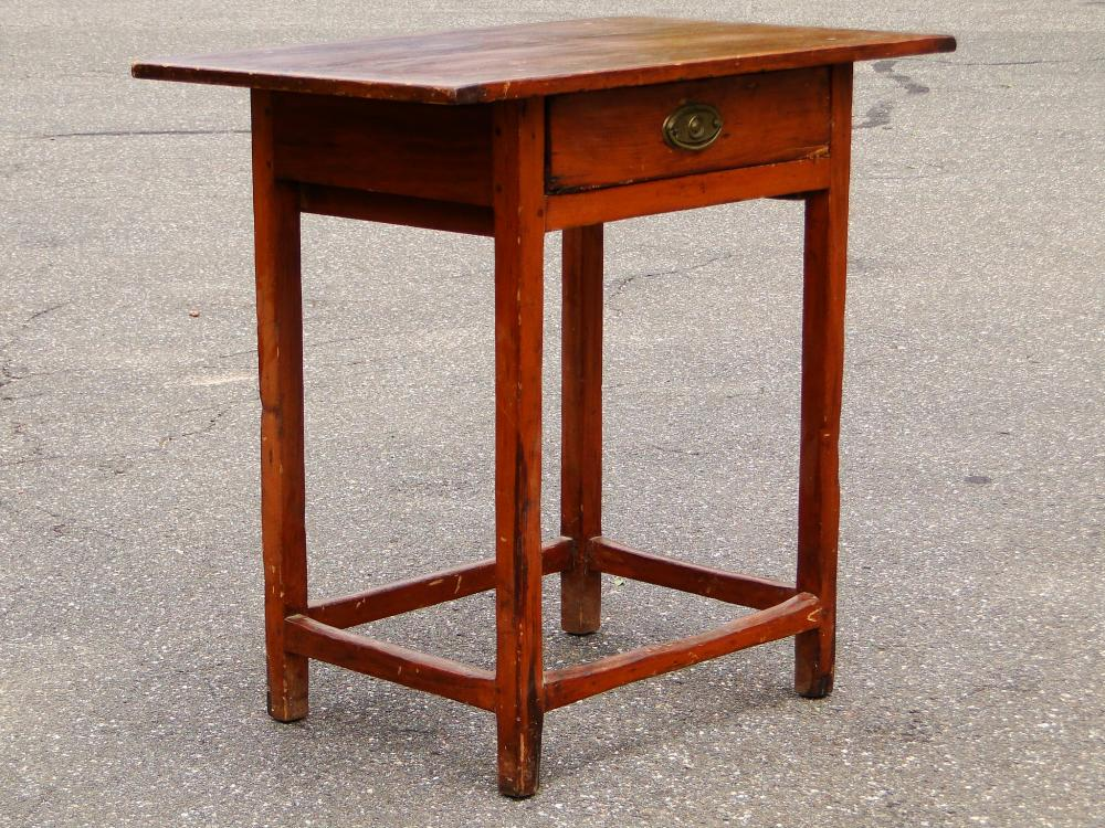 PRIMITIVE 19TH C TAVERN TABLE