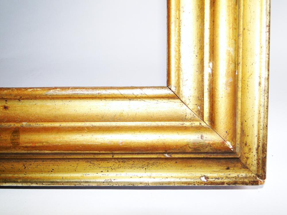 Lot 57: 19TH C GOLD GILT FRAME