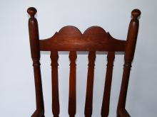 Lot 80: EARLY 18THC BANISTER BACK ARM CHAIR