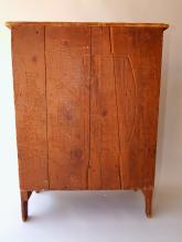 Lot 89: 19TH C MINIATURE STEPBACK CUPBOARD
