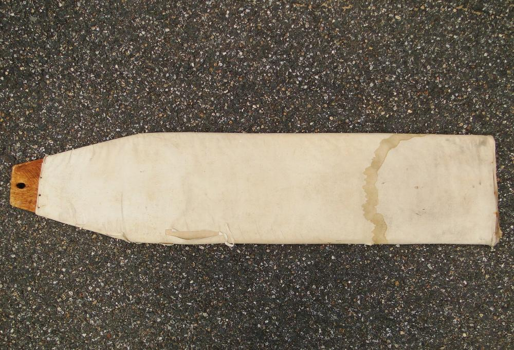 Lot 94: EARLY PRIMITIVE IRONING BOARD