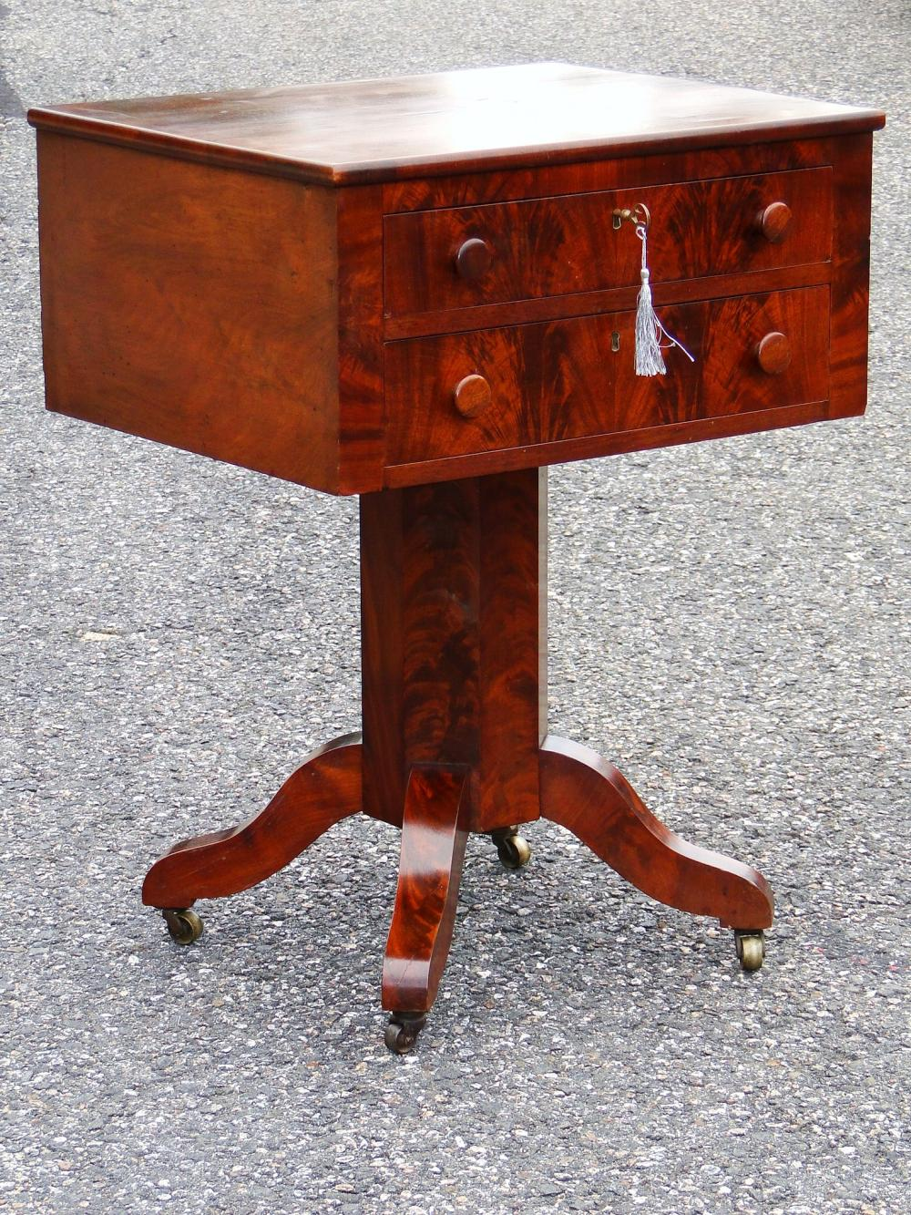 Lot 100J: 19TH C AMERICAN EMPIRE STAND