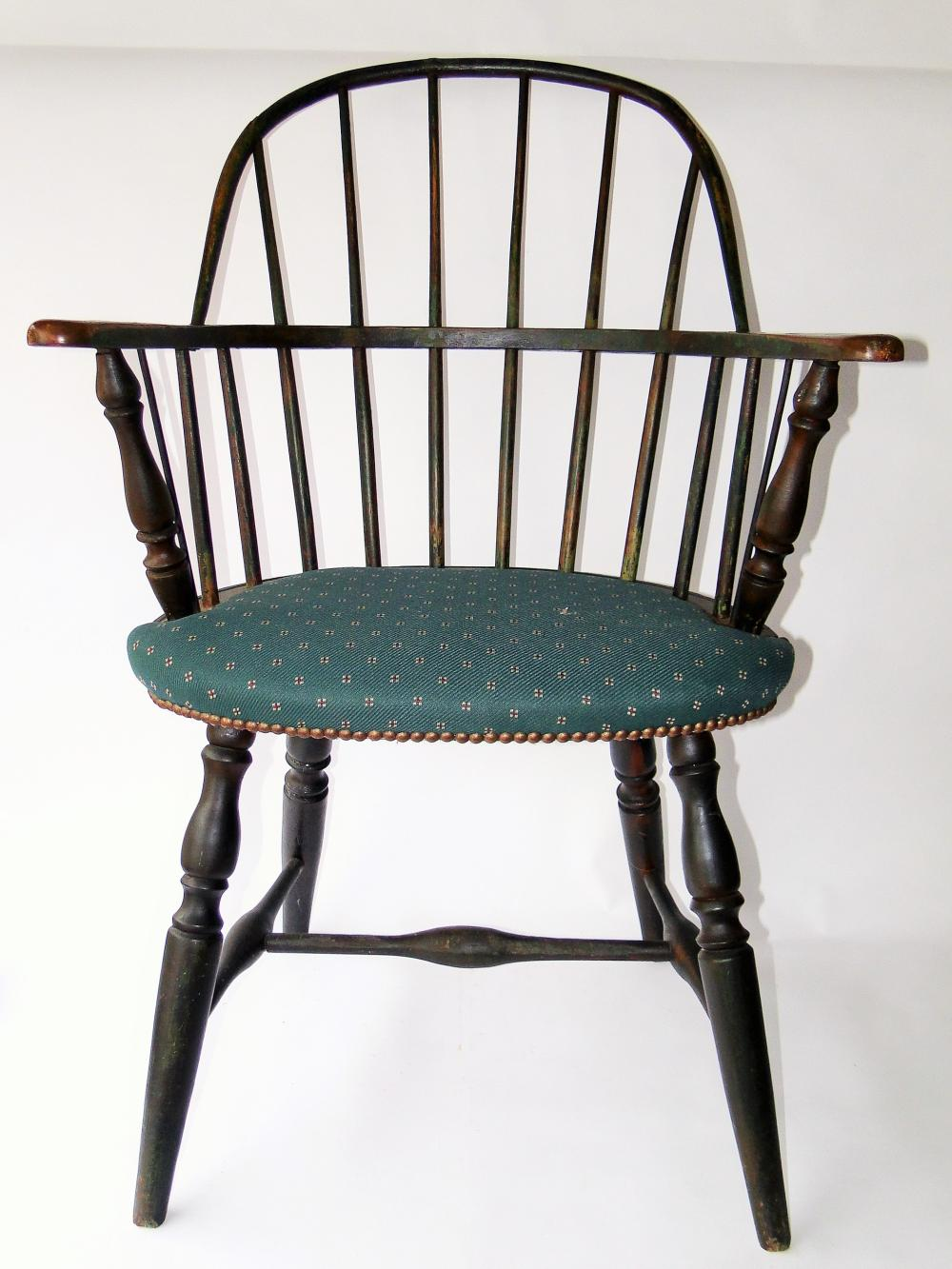 18TH C BOWBACK WINDSOR CHAIR
