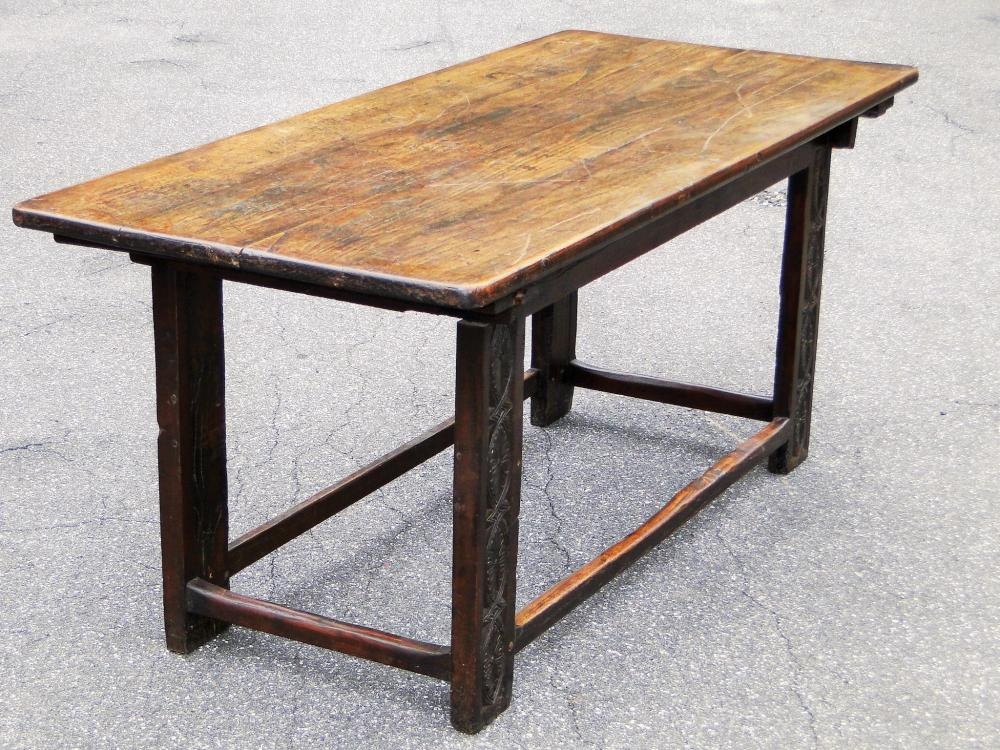 WILLIAM AND MARY REFECTORY TABLE