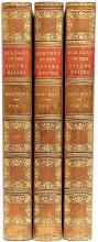 BANCROFT, George. History of The United States, From The Discovery of The American Continent. (THIRTEENTH EDITION - 3 VOLUMES - 1849)