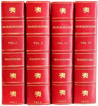 CHURCHILL, Winston. Marlborough. His life and times. (FIRST EDITION - 4 VOLUMES - 1933-38)
