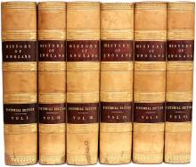 CRAIK, George L. & Charles Macfarlane. The Pictorial History of England: Being A History of The People As Well As A History of The Kingdom. (PICTORIAL EDITION - 6 VOLUMES - 1841)