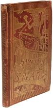 DODGSON, Charles L. (Lewis Carroll). The Hunting of the Snark. (FIRST EDITION - PRE-PUBLICATION PRESENTATION COPY - 1876)