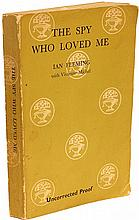 FLEMING, Ian. The Spy Who Loved Me. (FIRST EDITION - FIRST PRINTING - UNCORRECTED PROOF - 1962)