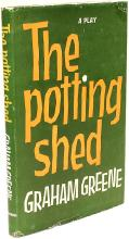 GREENE, Graham. The Potting Shed. A Play. (FIRST EDITION PRESENTATION COPY TO HIS MISTRESS - 1958)