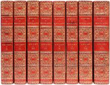 KNIGHT, Charles. The Popular History of England: An Illustrated History of Society & Government From The Earliest Period To Our Own Times. (8 VOLUMES - 1856)