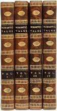 LEWIS, Mathew Gregory. Romantic Tales. (FIRST EDITION - 1808 - 4 VOLUMES)
