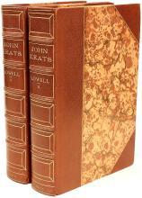 LOWELL, Amy. John Keats. (FIRST EDITION - 2 VOLUMES - 1925)