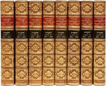 GARDINER, Samuel R.. The History of England 1603-1642 - WITH - The History of The Great Civil War 1642-1644 - WITH - The History of The Commonwealth 1649-1656. (18 VOLUMES)