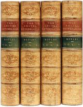 MOTLEY, John Lothrop. History of The United Netherlands From The Death of William The Silent To The Synod of Dort. (4 VOLUMES - 1860)