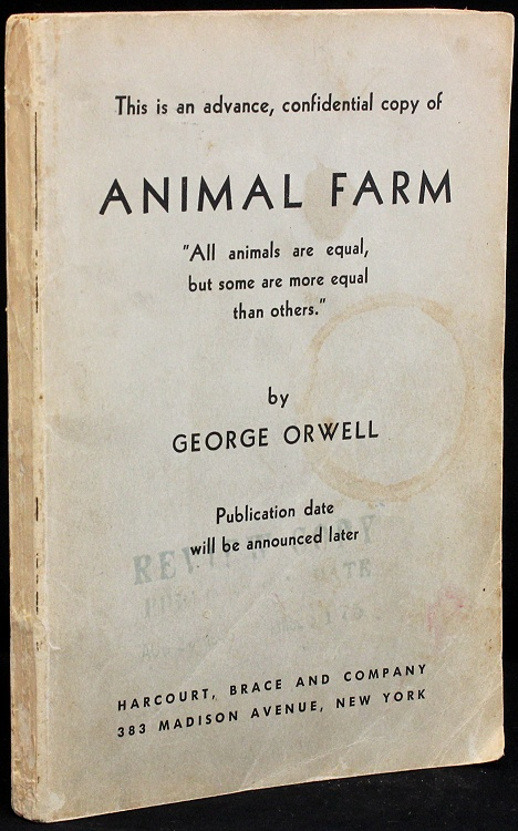 a review of george orwells animal farm Review: orwell's animal farm gets plowed and  is it wise to modernize animal farm george orwell's 1945 classic about a bestial utopia gone wrong is at.