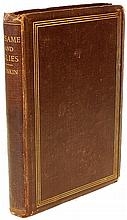 RUSKIN, John. Sesame and Lilies. Two Lectures Delivered at Manchester In 1864. (FIRST EDITION PRESENTATION COPY - 1865)
