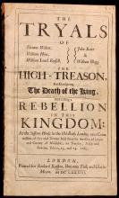 YE HOUSE PLOT. The Tryals of Thomas Walcot, William Hone, William Lord Russell, John Rous & William Blagg for high-treason for conspiring the death of the King... (1683)