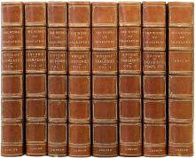 SHAKESPEARE, William : (Charles Knight - editor). The Complete Works of William Shakespeare. (THE PICTORIAL EDITION - 8 VOLUMES)