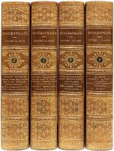 SHAKESPEARE, William: (Charles & Mary Cowden Clarke - editors). The Works of William Shakespeare. (4 VOLUMES - 1864)