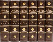 STRICKLAND, Agnes. Lives of The Queens of England from The Norman Conquest. (6 VOLUMES - NEW REVISED EDITION)