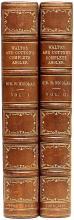 WALTON, Izaak. The Complete Angler or The Contemplative Man's Recreation... (SECOND EDITION - 1860)