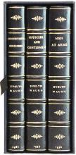 WAUGH, Evelyn. MEN AT ARMS TRILOGY. - Men at Arms - Officers and Gentlemen - Unconditional Surrender. (ALL FIRST EDITIONS - 3 VOLUMES - 1952-61)