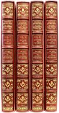WIDENER, Joseph: [Clayton, Edward, compiler]. French Engravings of the Eighteenth Century in the Collection of Joseph Widener, Lynnewood Hall. (FIRST EDITION - 4 VOLUMES - 1923)