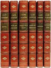 AUSTEN, Jane (J. E. Austen Leigh). The Complete Works of Jane Austen. (6 VOLUMES - THE CHAWTON EDITION)