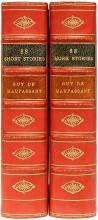 MAUPASSANT, Guy de. 88 Short Stories & 88 More Stories. (2 VOLUMES - 1952)