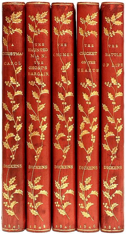 the christmas books a christmas carol the chimes the - A Christmas Carol First Edition