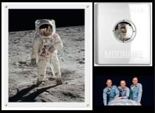 Moonfire: The Epic Journey of Apollo 11 by Norman Mailer, Includes Signed and Framed Print by Buzz Aldrin - 2009