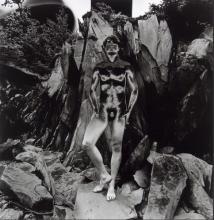 Eikoh Hosoe: Shadow of a Bodhi Tree, Signed Silver Gelatin Print - 1992