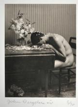 John Dugdale: Turbulent Dream, NYC, Signed Platinum Print - 1999