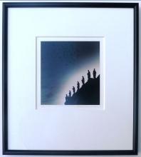 Michael Kenna, 104 Birds, Framed Signed Silver Gelatin Print - 1992