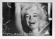 Bert Stern: Marilyn in Rhinestones, Signed Original Custom Framed Print - 1994