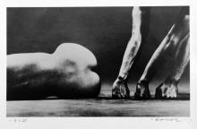 Eikoh Hosoe: Man and Woman #24, Signed Silver Gelatin Print - 1960