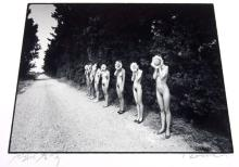Eikoh Hosoe: Sunflower Children, Signed Silver Gelatin Print - 1990